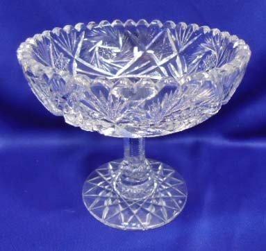 15: Cut Glass Compote