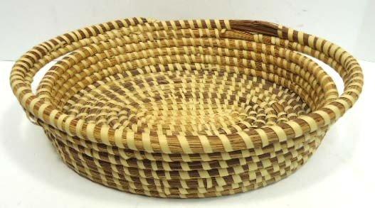 10C: Papago Oval Pine Needle Basket