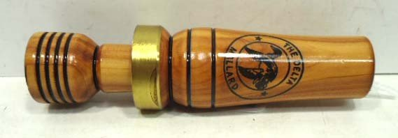 15B: Thurman McCann cedar duck call