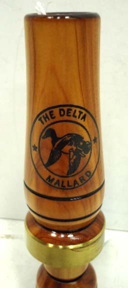 15B: Thurman McCann cedar duck call - 2