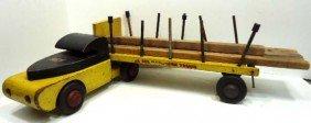 7: Buudy L Wood Timber Truck