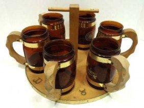 13: Siesta Ware-6 Mugs & Holder