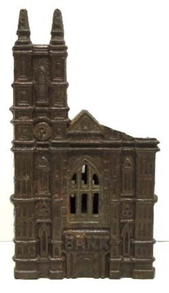 16: Old Cast Iron Bank