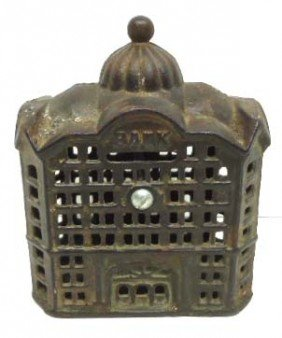 17: Old Cast Iron Bank