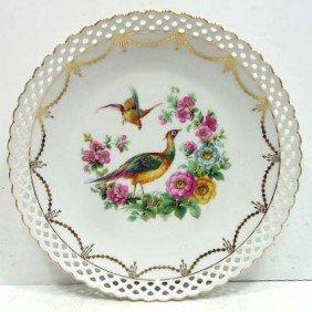18: Schumann Reticulated Bird Plate