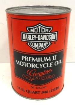 22: 1 Qt. Harley Davidson Motor Oil