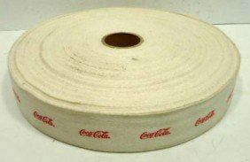 23: Full Roll Coca Cola Webbing
