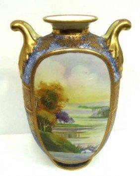 158: H.P. Nippon Vase