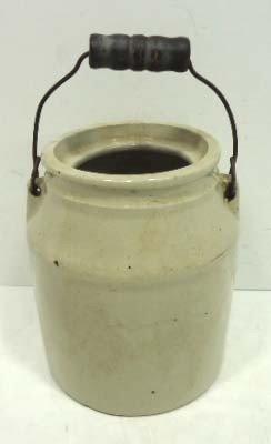 14: 1 Qt. Stone Jar W/ Bail