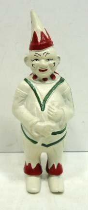 15: Old Cast Iron Clown Bank