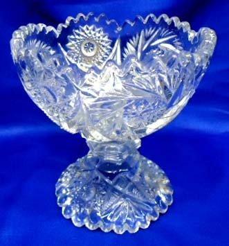 22: Pressed Glass Compote