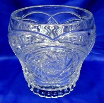 23: Pressed Glass Vase