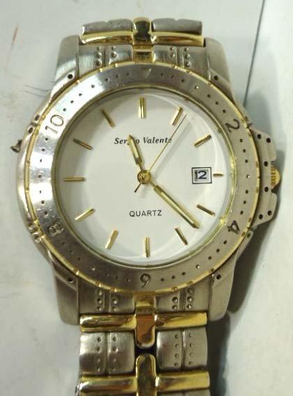 49: Sergio Valente Wrist Watch - 3