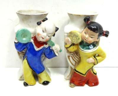 159: Pr. Occ. Japan Oriental Vases