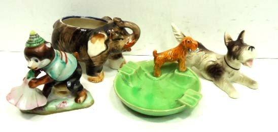 160: 4 Pc. Occ. Japan Animal Figures