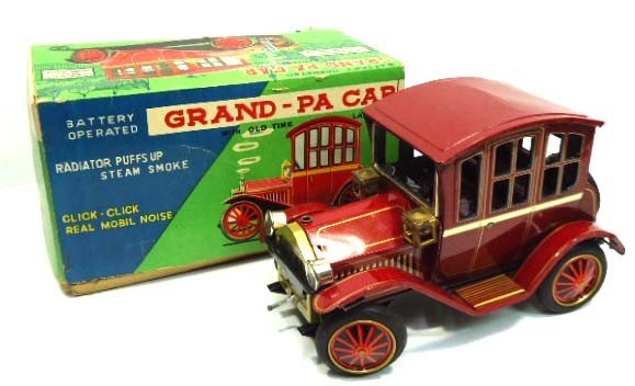 2: Tin Litho Grand-pa Car