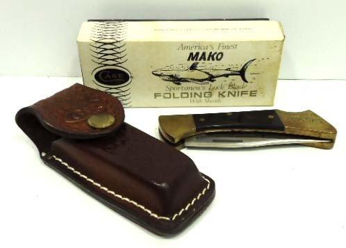 """34: Case xx 2 Dot """"Mako"""" Folding Knife"""