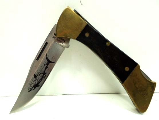 """34: Case xx 2 Dot """"Mako"""" Folding Knife - 3"""