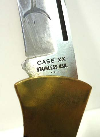 """34: Case xx 2 Dot """"Mako"""" Folding Knife - 5"""