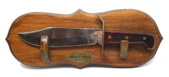 136: Western Bowie Knife