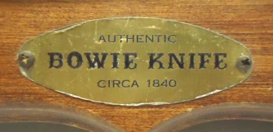 136: Western Bowie Knife - 2
