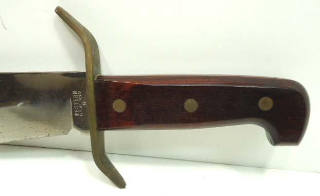 136: Western Bowie Knife - 4