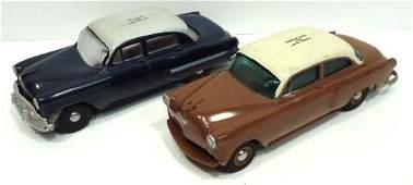 174: 2 1954 Chevrolet Promo Car Banks