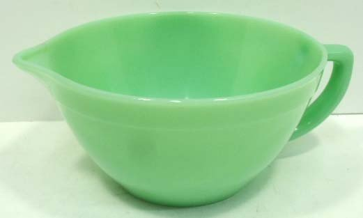 1: Fire King Jadeite Batter Bowl