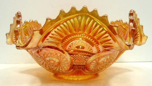 10: Carnival Glass Bowl