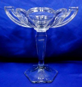 Elegant Glass Compote