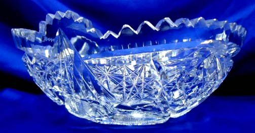 15: American Brilliant Cut Glass Bowl