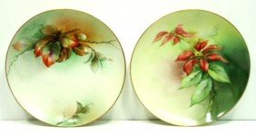 2 HP Plates Artist Signed