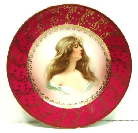 67: Austria HP Portrait Plate