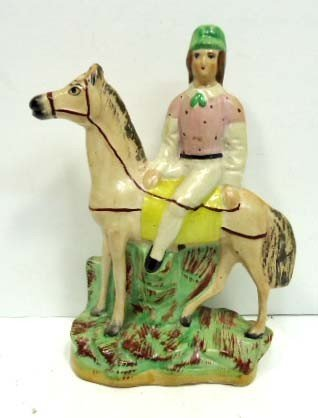 88: Staffordshire Figure on Horseback