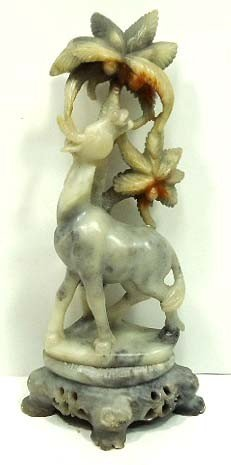 154: Carved Soapstone Figure
