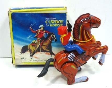 11: Mech. Cowboy/Horse