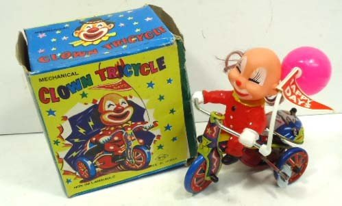 12: Mech. Clown Tricycle