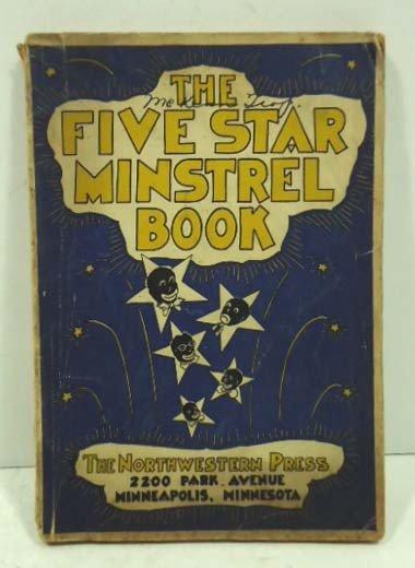 48: 1938 Five Star Black minstrel Book