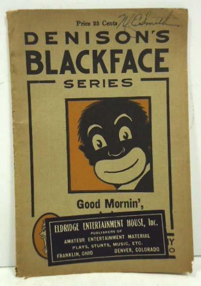 50: 1915 Denisons Black face series book