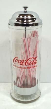 51: Coca Cola Straw Holder