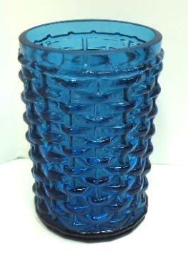 6: Vict. Blue Basketweave Tumbler