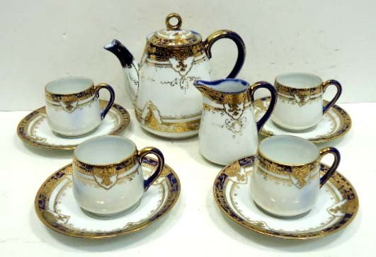12: 10 Pc. Nippon Tea Set