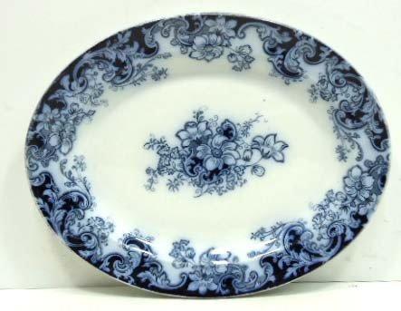 14: Flow Blue Platter