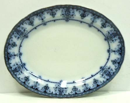 15: Flow Blue Platter