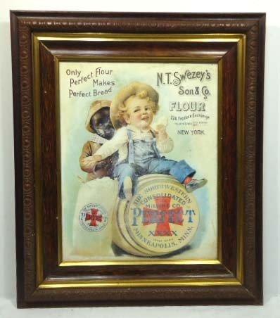 15A: N.T. Swezey's Flour Adv. Sign