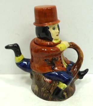 18: Rushton Pottery Figural Tea Pot