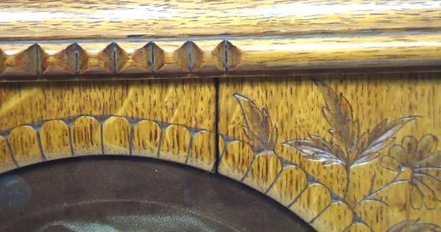 33B: Print In Carved Oak Frame - 3