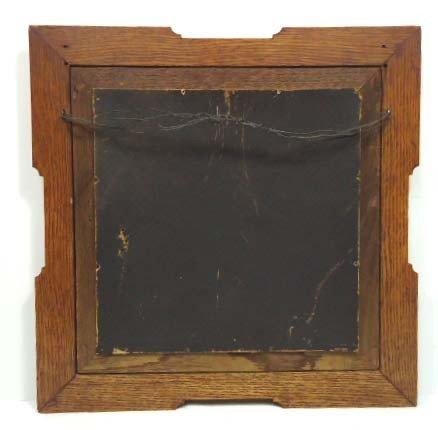33B: Print In Carved Oak Frame - 4