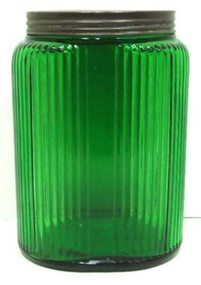 1: Green Canister Jar