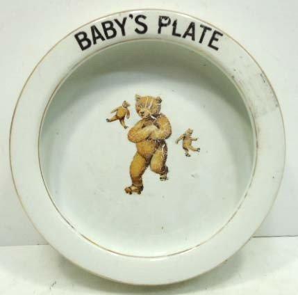 11: Teddy Bear Baby Plate
